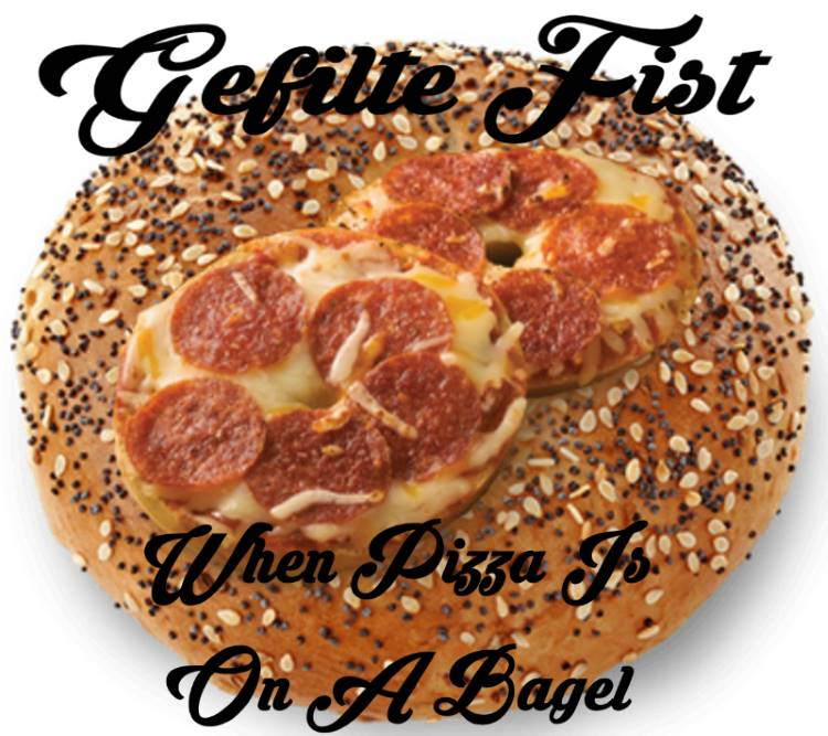 When Pizza Is On A Bagel