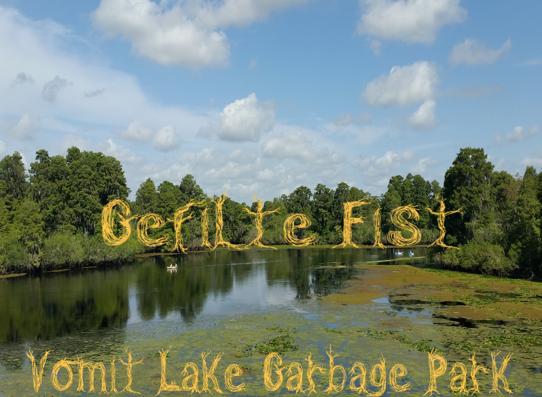 Vomit Lake Garbage Park